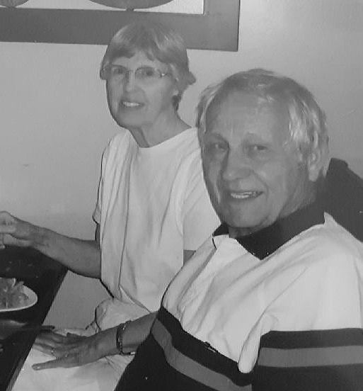 My grandpa and my step grandma knew how to live. They loved each other and they traveled the world together.