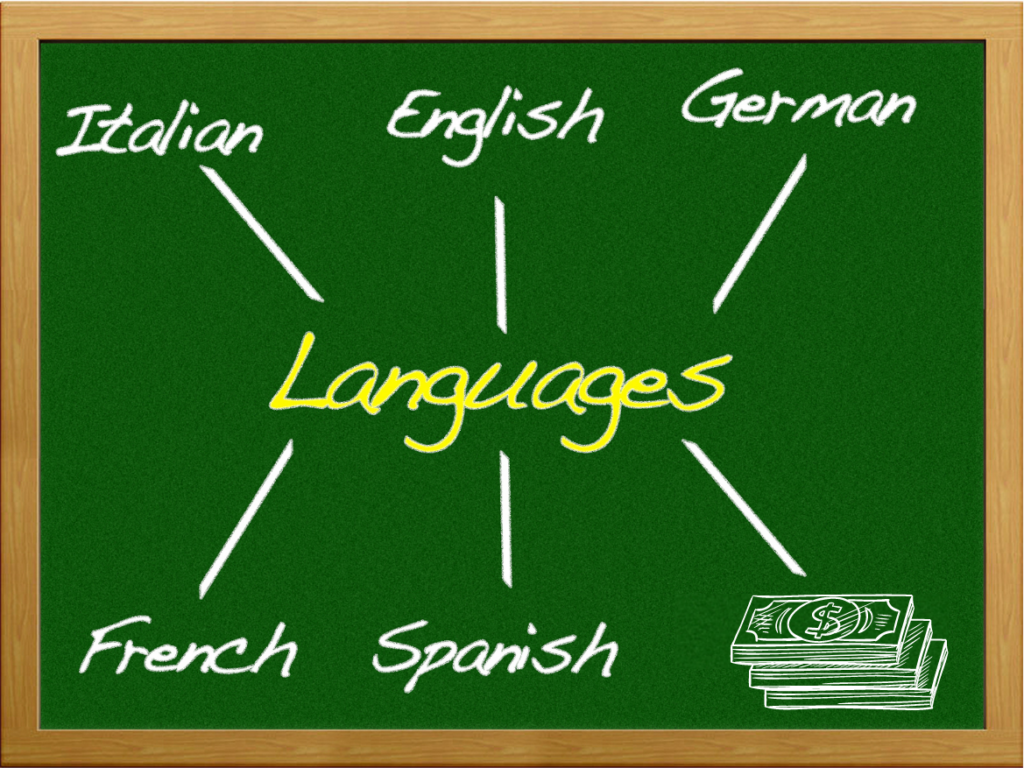 It takes a very similar skill set to learn the language of money as it does to learn any other language.