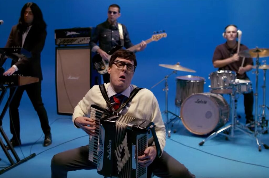 Weird Al starred in the Weezer cover song of Toto's Africa.