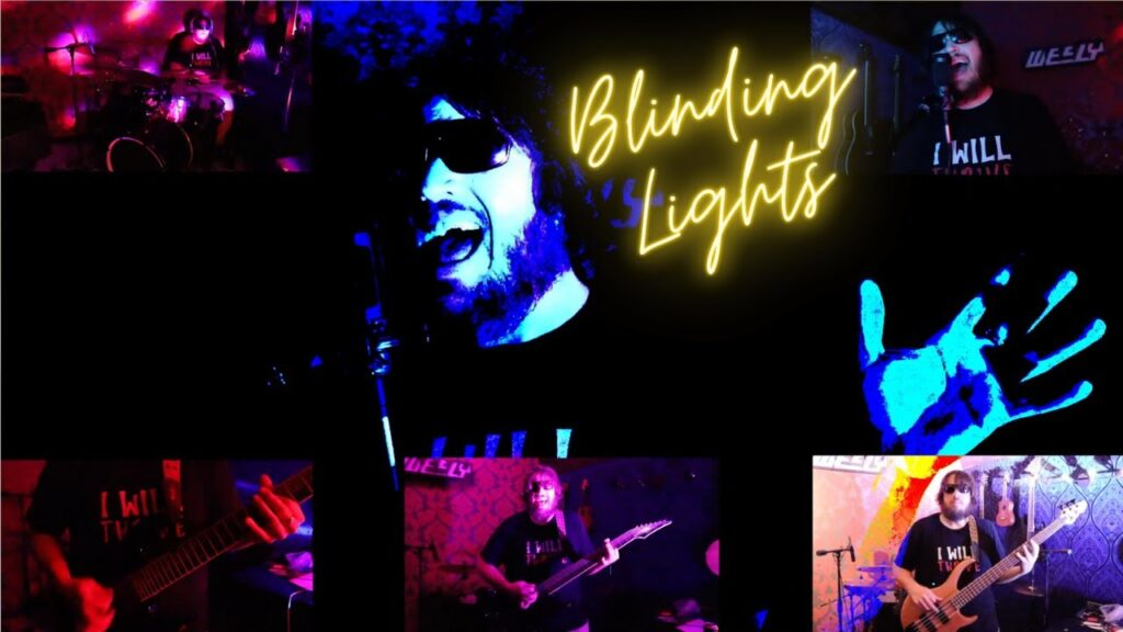 A cover song by Wesly, Blinding Lights, by The Weeknd.