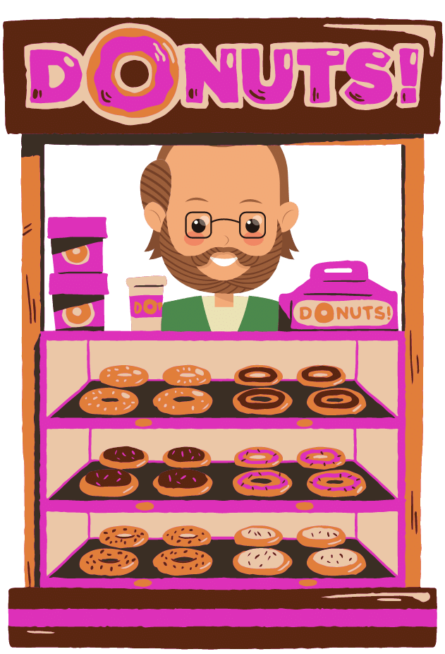 The man at the donut shop, and his reaction to me losing 80 pounds shocked me.